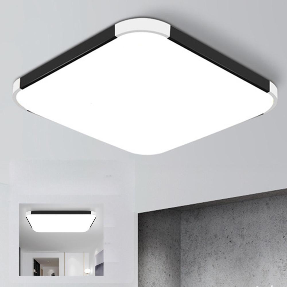 24W 36W Modern Ceiling Light Fixture LED Lamp Surface Mount Living Room Bedroom AC85-265V