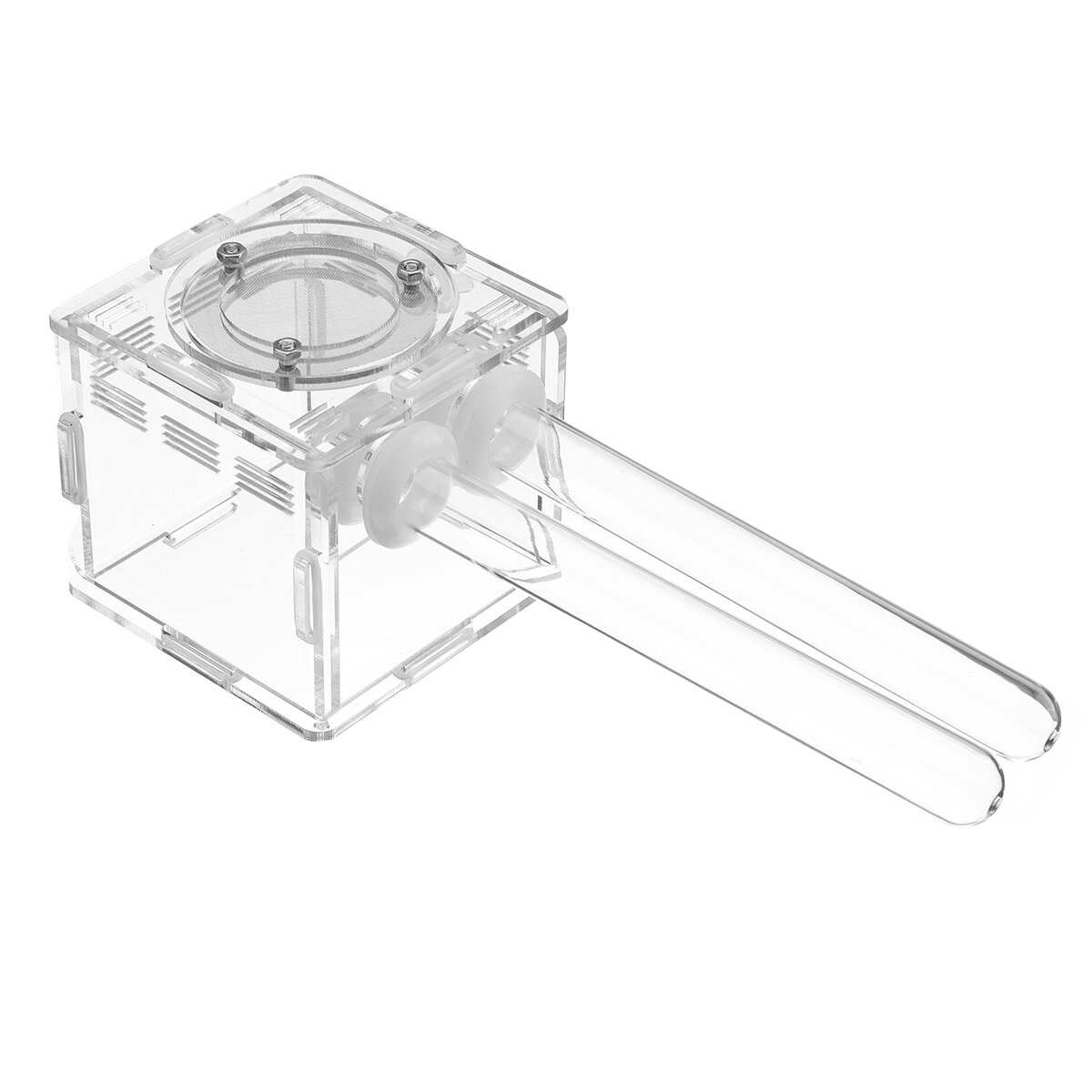 Double Glass Tubes Ant Nest with Active Zone Test Tube Nest House Acrylic