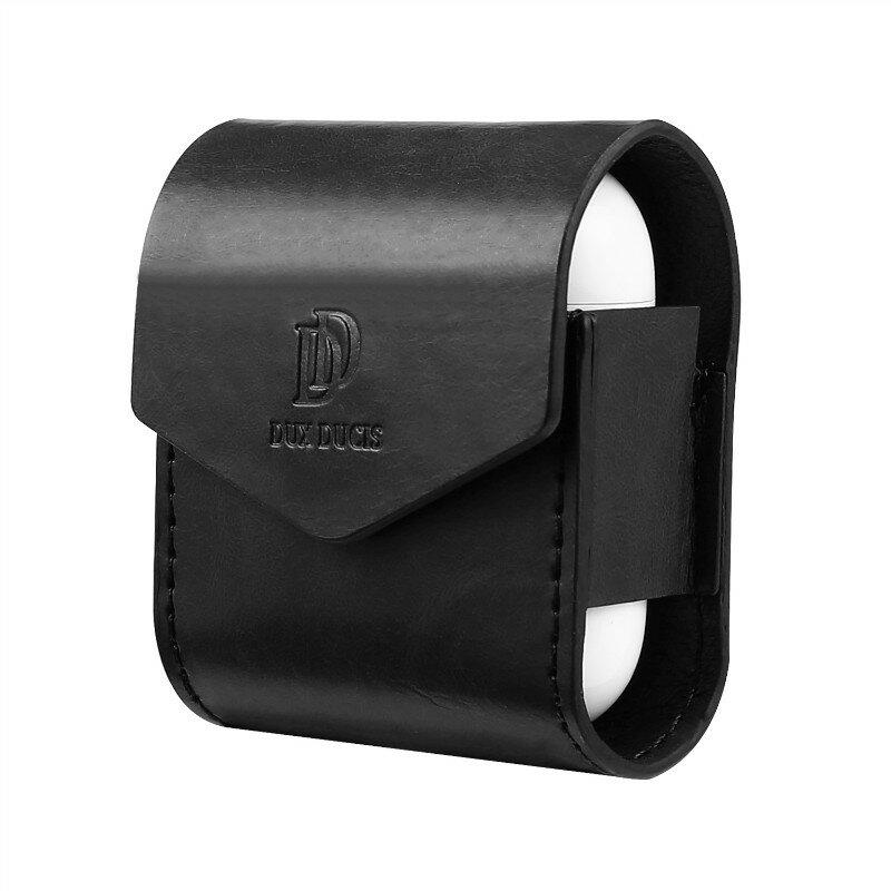 DUX DUCIS For Apple AirPods Case Luksus PU Lær Magnetic Cover For Airpods øretelefon