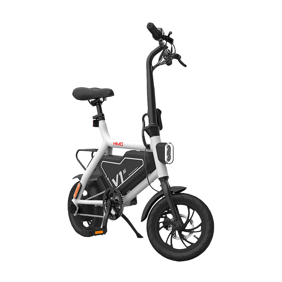 HIMO V1S 250W 7.8Ah Foldable Electric Moped Bicycle 25km/h Max 100kg Max Load 60km Mileage Electric Bike US Plug From Xiaomi Youpin
