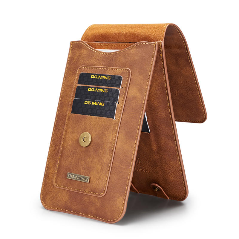 """Men's Hook Fanny Waist Bag Hip Bum Pack 11/13 Card Slots Phone Pouch for Phones up to 6"""""""