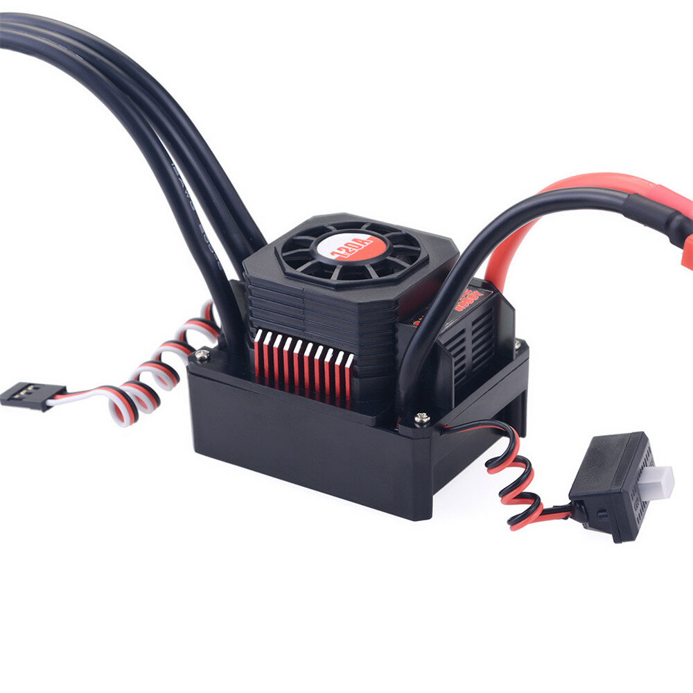 Hobbywing EzRun Max8 v3 150A Waterproof Brushless ESC T/TRX Plug+2200KV Motor For 1/8 RC Car Parts - 3