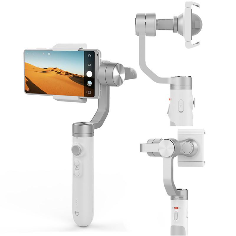 Xiaomi Mijia SJYT01FM 3 Axis Håndholdt Gimbal Stabilizer med 5000mAh Batteri til Handling Kamera Telefon