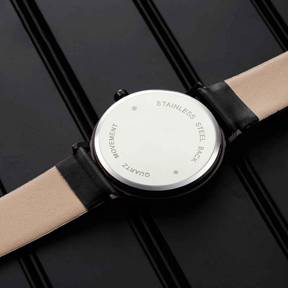 SHENGKE SK K0090 Creative Dial Fashion Women Casual Funny Leather Band Quartz Watch - 4