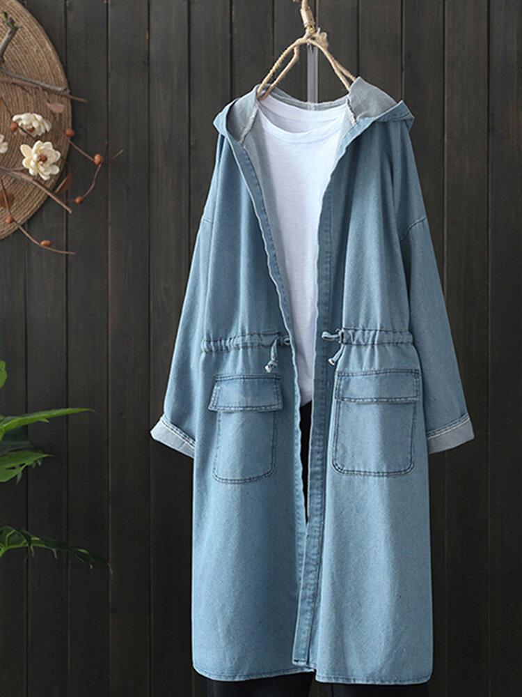 Women Winter Warm Tassel Sweater Coats - 1