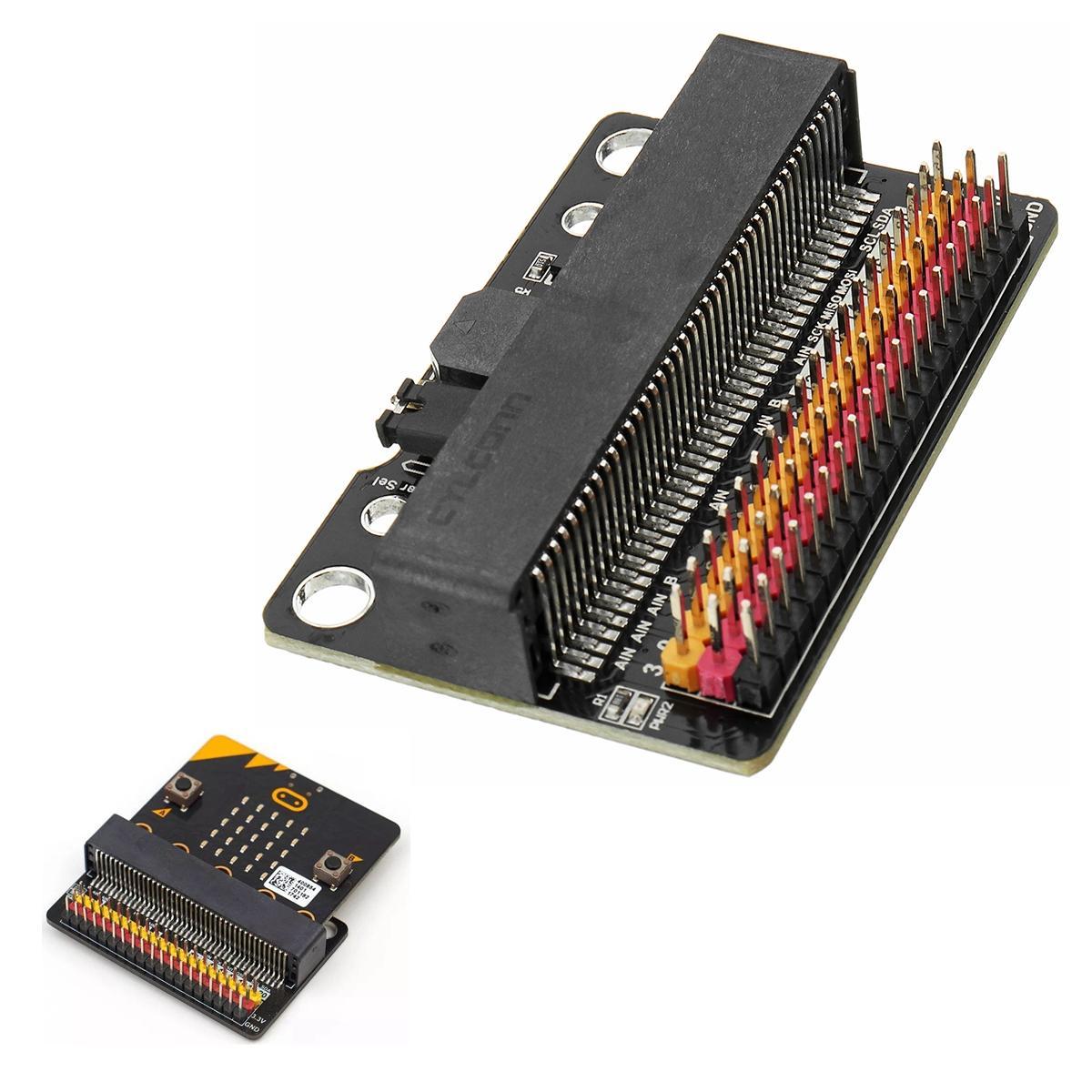 IOBIT Expansion Board Breakout Adapter Board For BBC Micro: bit Development Module Contains Buzzer