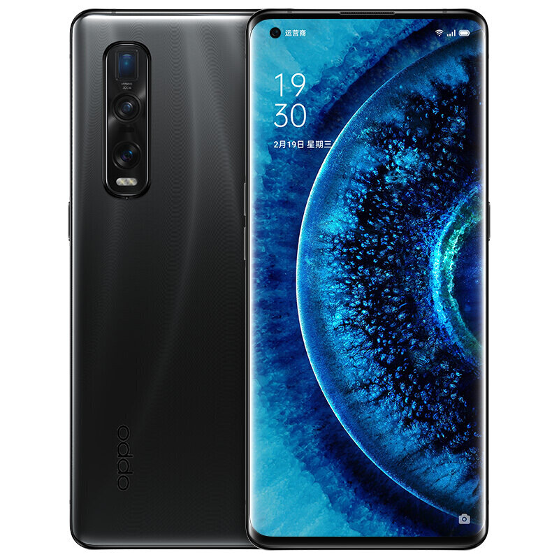 OPPO Find X2 Pro 5G Smartphone CN Version 6.7 inch 3K QHD+ 120Hz Refresh Rate 240Hz Touch Registration Rate NFC Android 10 4260mAh 48MP Triple Rear Cameras 32MP Front Camera 12GB 256GB Snapdragon 865
