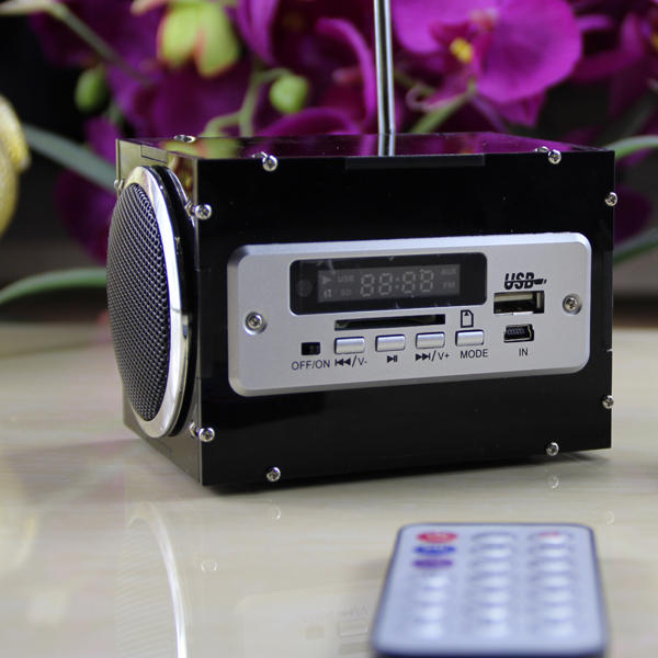 DIY 2x3W Multi-function bluetooth Wireless Small Power Amplifier Speaker Kit With MP3 AUX Radio Function