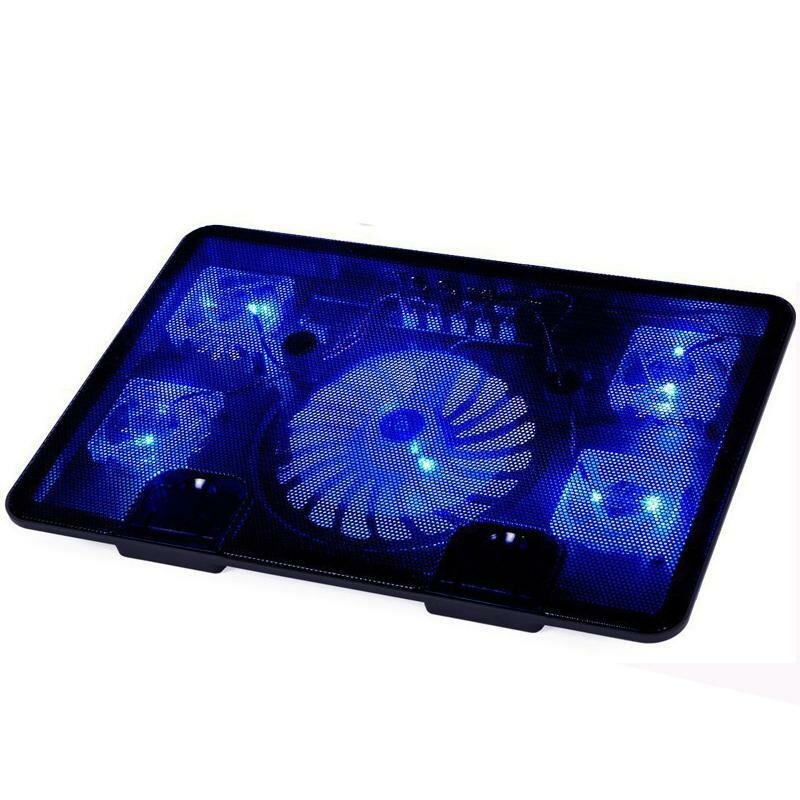 Neo star Genuine 5 Fan 2 USB LED Pad di raffreddamento per laptop
