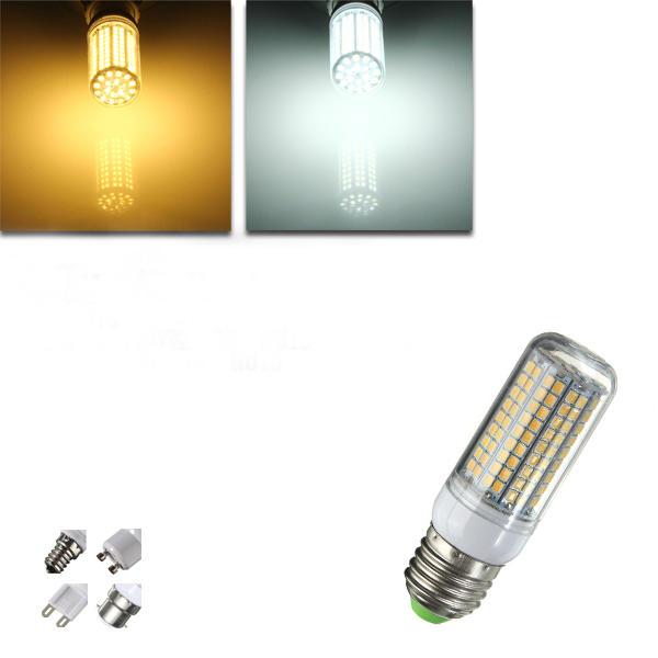Bianco E27 e14 g9 gu10 b22 8w smd 180 2835 LED mais lampadina 220v bianco caldo 240v