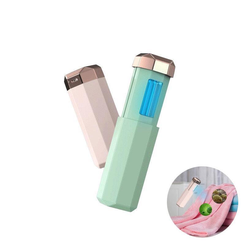 USB 253.7nm Sterilization UV Lamp Telescopic Mini Portable Disinfection Light Sanitizer Lantern