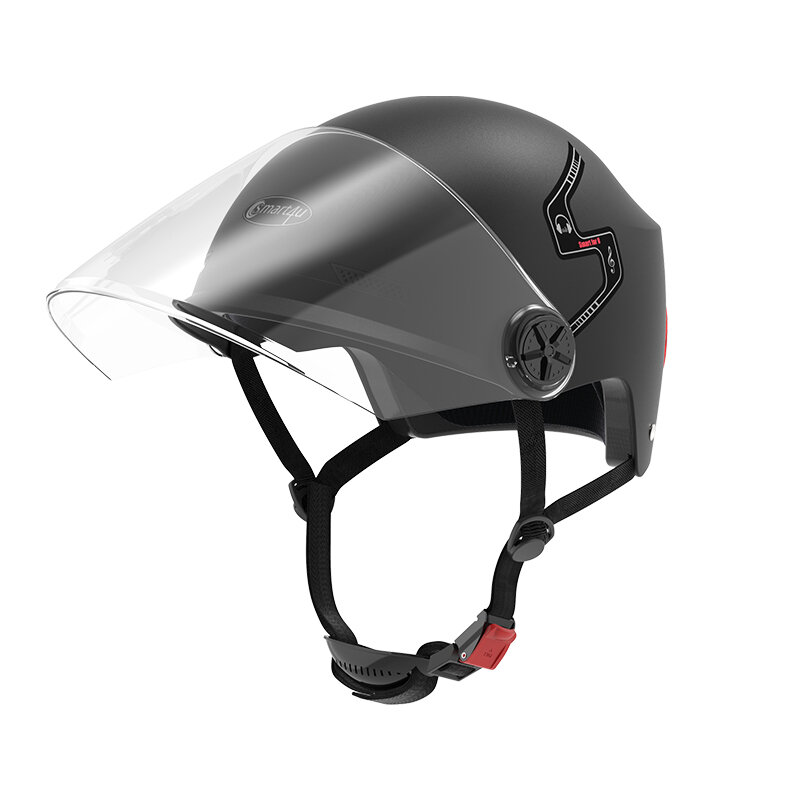 Smart4u E10 Automatic Answering bluetooth Half Face Helmet For Motorcycle Scooter Electric Vehicle Bike from xiaomi youpin