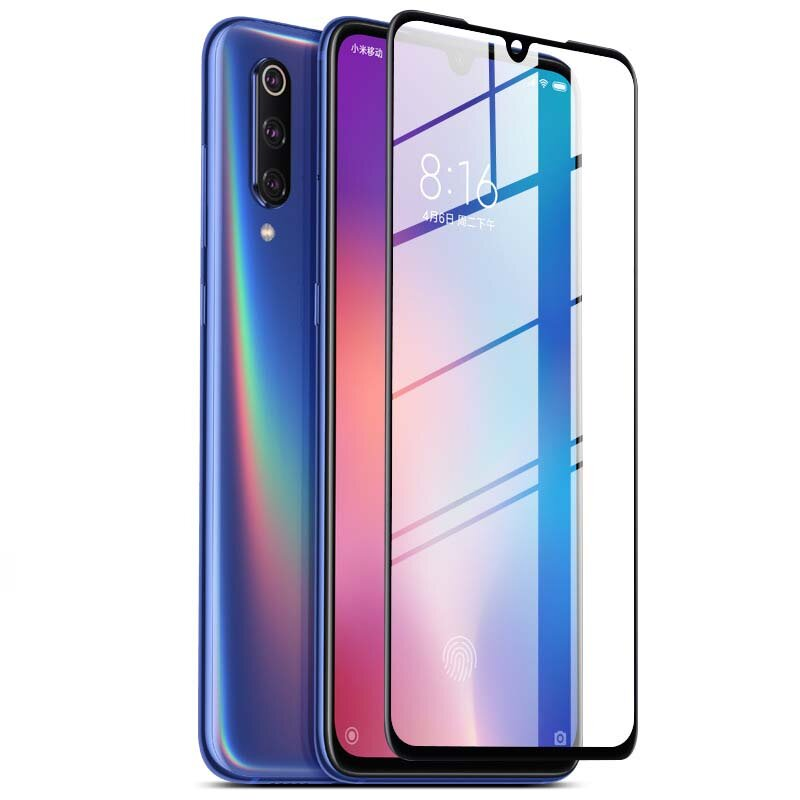 BAKEEY Anti-Explosion Full Cover Full Gule Tempered Glass Screen Protector for Xiaomi Mi9 /Xiaomi Mi 9 Pro / Mi 9 Transparent Edition