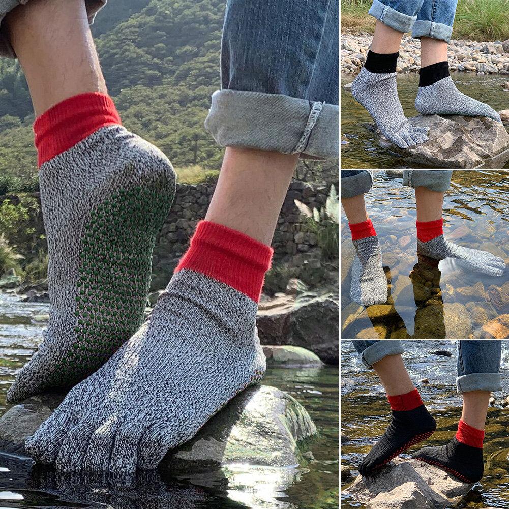 5 Toe Cut Resistant Socken Komfortable Anti-Rutsch Yoga Socken Wandern Laufen Klettern Barfuß Socken im Freien