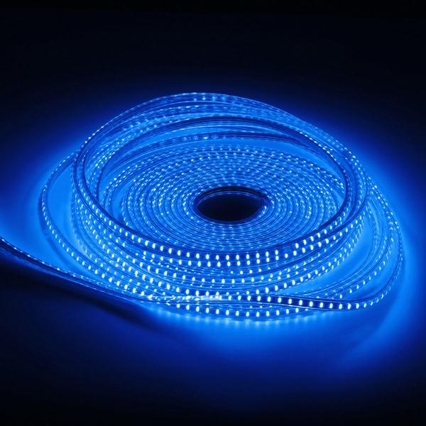 5M 12MM SMD3535 120LED/M IP68 Silicone Tube RGB LED Strip Light for Outdoor Swimming Poor Fish Tank DC12V - 6