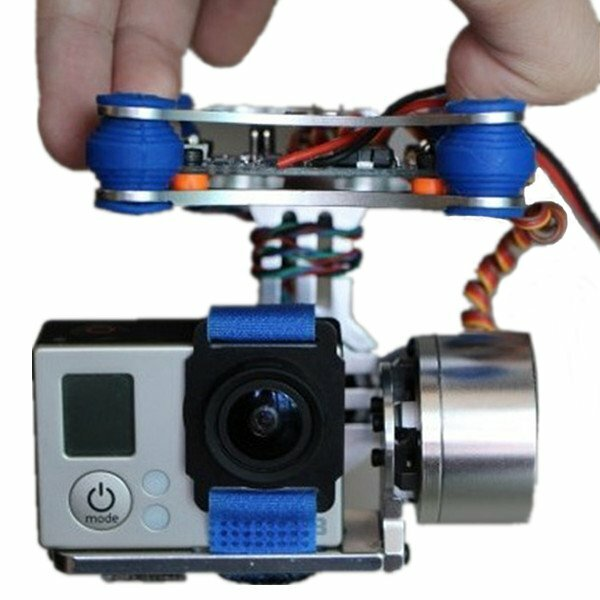 FPV 2 Axis Brushless Gimbal With Controller For DJI Phantom