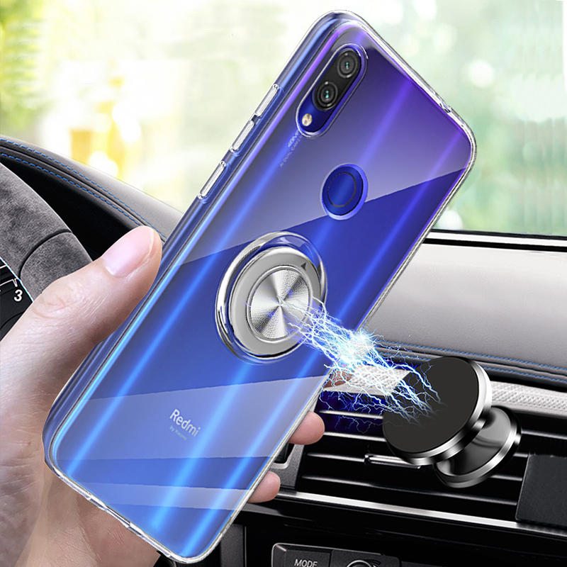 Bakeey Ultra-thin Transparent Anti-fingerprint Soft TPU Protective Case For Xiaomi Redmi Note 7 / Redmi Note 7 PRO