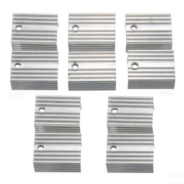 200pcs Aluminum Heat Sink Heat Sink For TO-220 L780xCV Three Terminal Positive Voltage Regulator