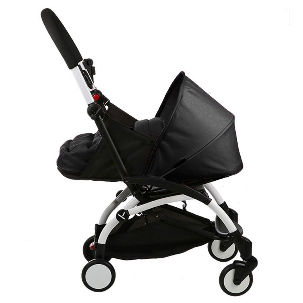 Folding Baby Stroller Sleeping Basket Infant Carriage Pushchair Sleep Pad Travel Car Stroller - 7