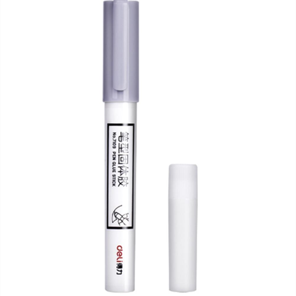 Deli 7109 Pen Shape Glue Stick Set with Spare Glue for School Office Supply DIY Adhesives