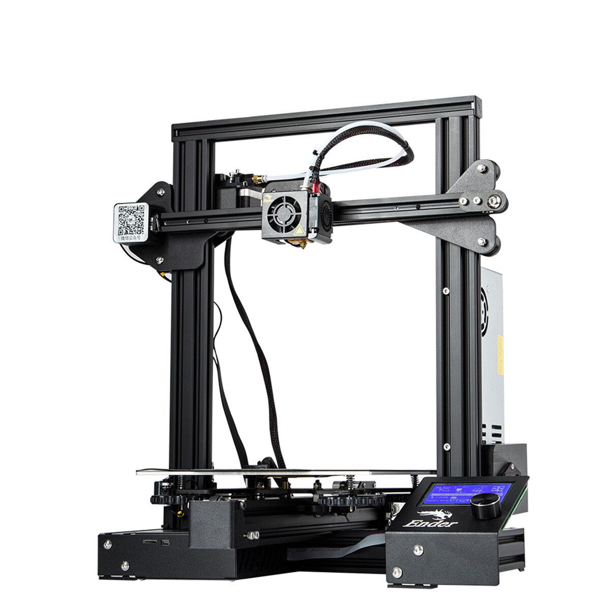 Creality 3D® Ender-3 Pro V-slot Prusa I3 DIY 3D Printer 220x220x250mm Printing...