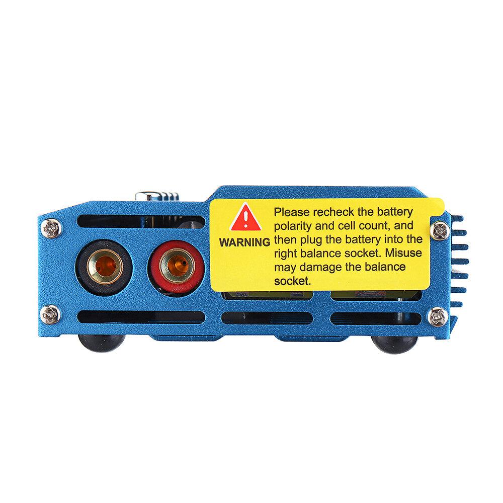 ISDT Q6 Nano BattGo 200W 8A Lipo Battery Charger Colorful Pocket for 1-6S Lipo Battery - 8