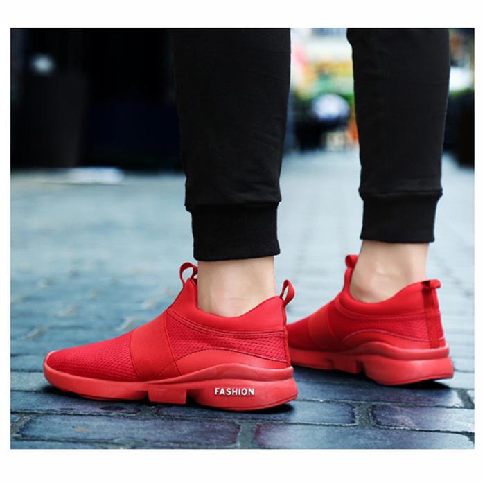 RT 622 Outdoor Men Slip On Mesh traspirante Casual Sneakers Athletic Running Scarpe sportive - 5