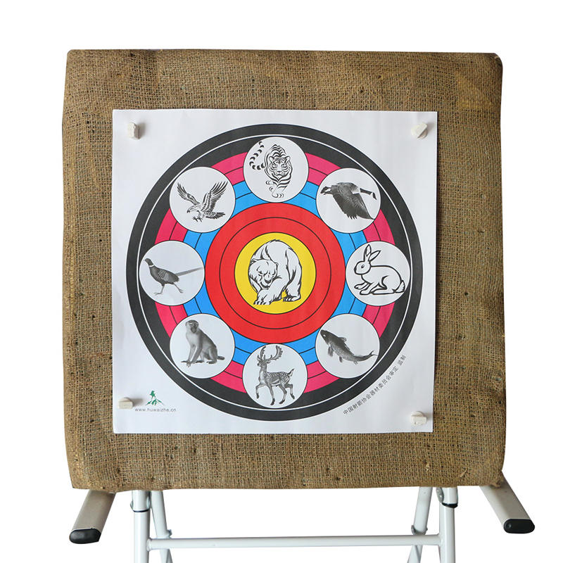 40X40cm Archery Target Paper For Outdoor Sport Archery Bow Hunting Shooting Training Target - 4