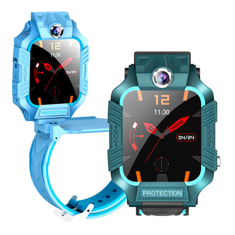 Bakeey Z8 Smart Watch 1.44 inch Touch Screen LBS Positioning Tracking SOS Front + Rear Rotational Dual Camera IP67 Water