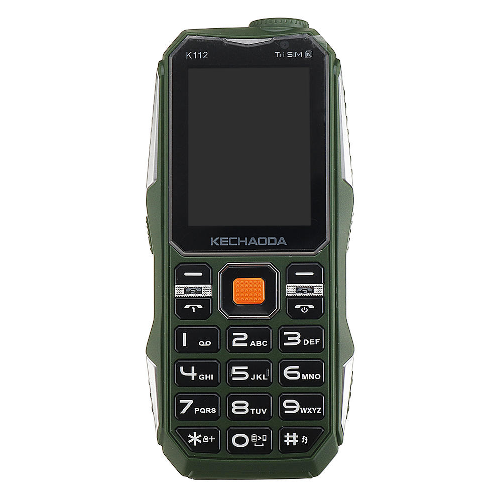 4400mAh Classic Old Retro Vintage Cell Mobile Phone Big Large Volume Dual SIM Tri-band Feature Phone - 9