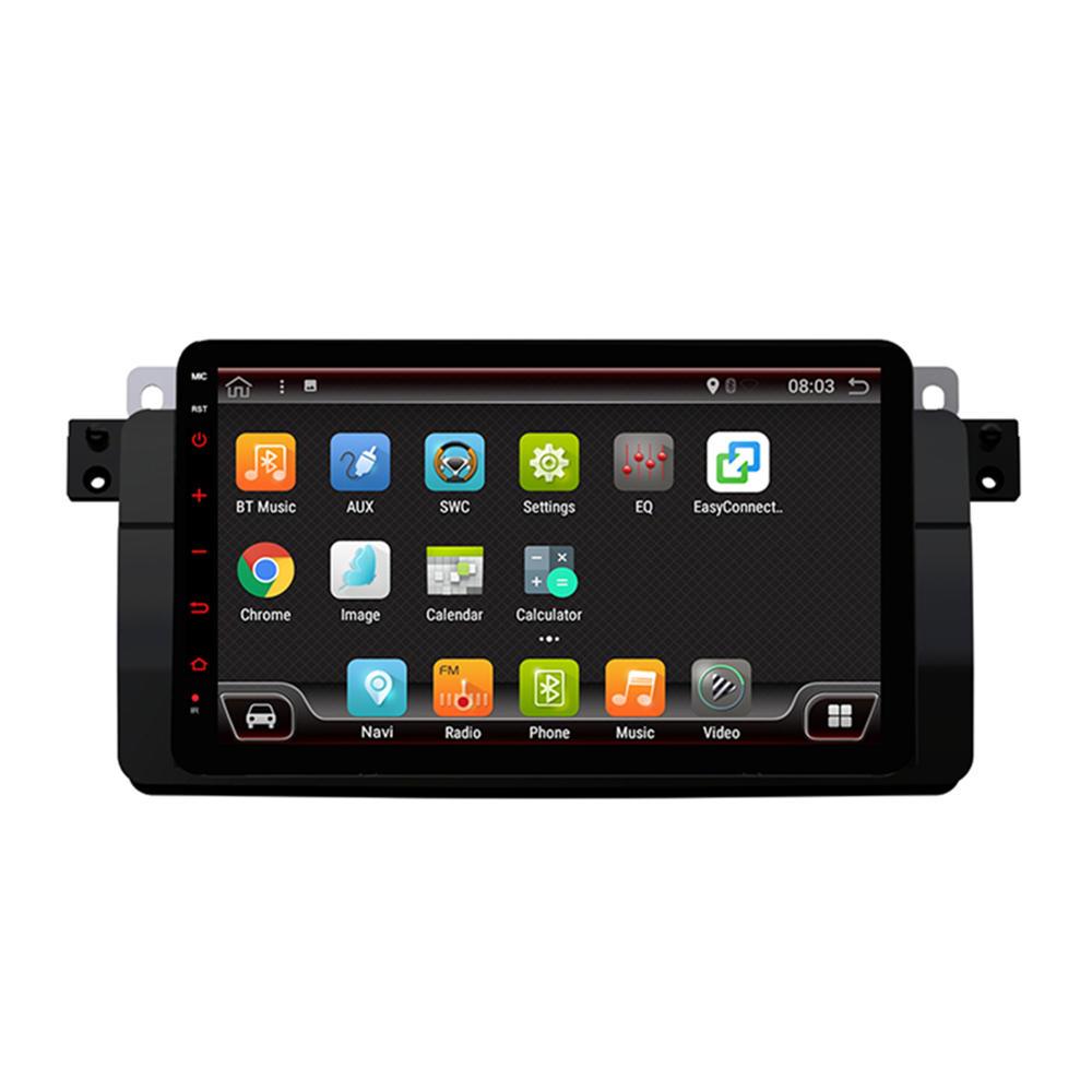 पीएक्स 6 8 इंच 4 + 64 जी एंड्रॉइड 9.0 कार स्टीरियो रेडियो 6 कोर 1 डीआईएन IPS एमपी 5 प्लेयर ब्लूटूथ GPS वाईफ़ाई 4 ज