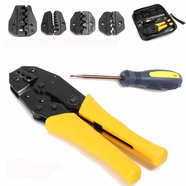 9pcs Cat5 RJ45 RJ11 RJ12 LAN Network Tool Kit Crimper Stripper Network Cable Tester Crimping Kit - 1