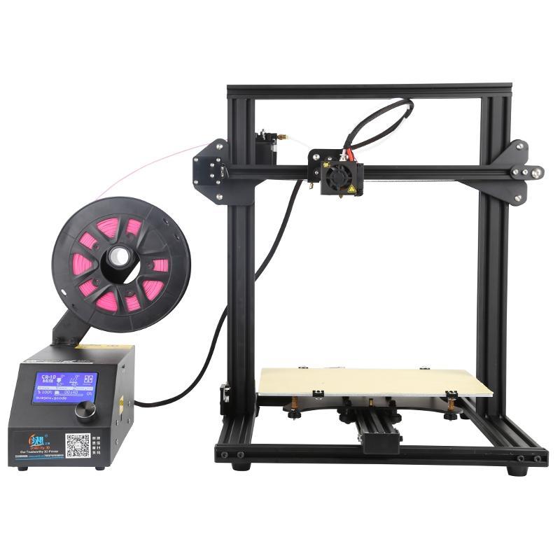 Creality 3D® CR-10 Mini DIY 3D Printer Kit Support Resume Print  300*220*300mm Large Printing Size 1 75mm 0 4mm Nozzle