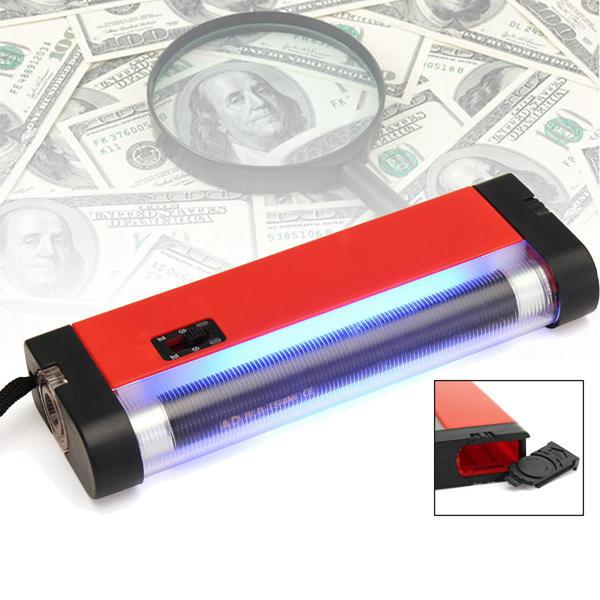 4W bärbar handhållen ljus UV lampa för huddiagnos ficklampa ficklampa