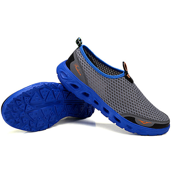 Lightweight Hollow Out Casual Sport Shoes In Mesh Sneakers - 7