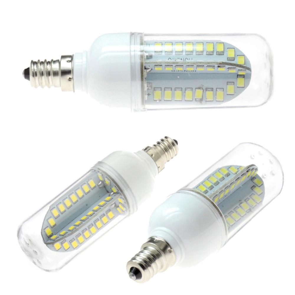 Dimmable E11 E12 E14 E17 G4 G8 G9 BA15D 2.5W LED COB Silicone Pure White Warm White Light Bulb 110V - 4