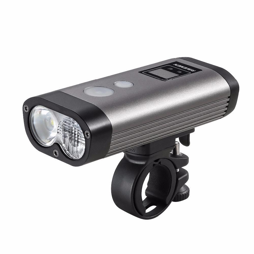 IMALENT BG10 2300LM XHP50 LED Light Mini Smart Adapt Bicycle Light IPX8 Waterproof Bike Lights - 1
