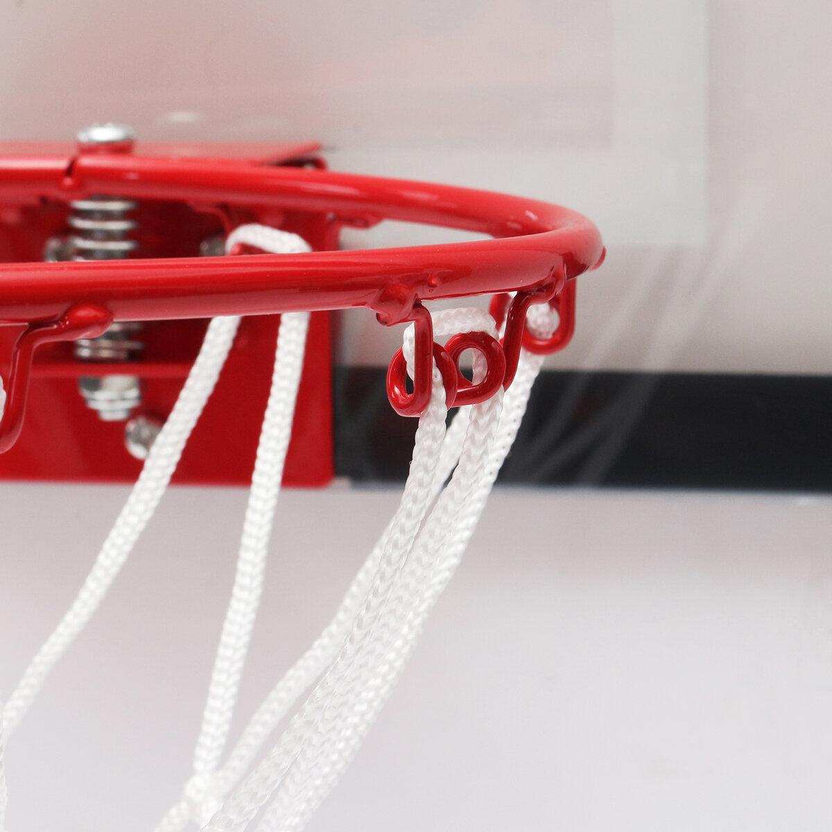 MiniBasketballSetIndoorNetHoop Met Ball Pump Indoor Sporting Game Goods - 6
