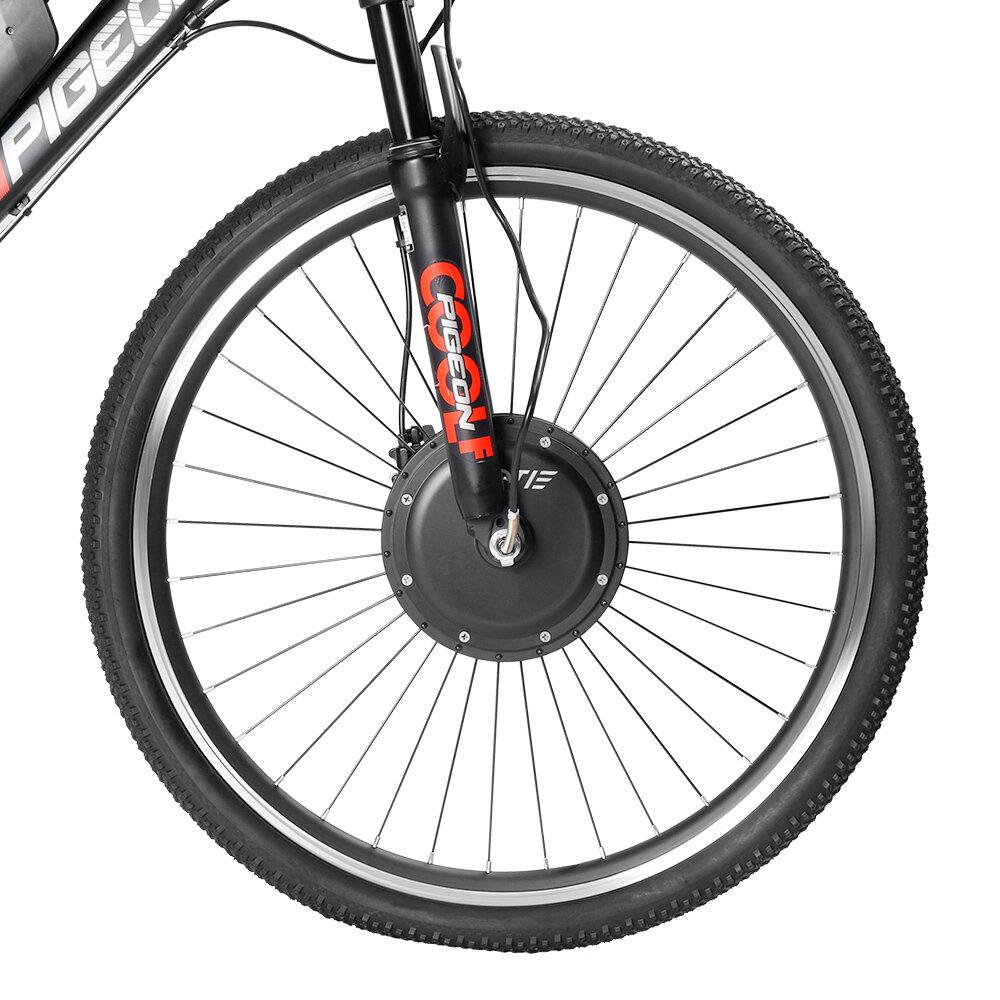 LAOTIE® EW-BT3 Wireless bluetooth 26in/700C Universal 36V 10.4Ah 350W Intelligence Bicycle Wheel Brushless Motor Front Wheel for Electric Bike