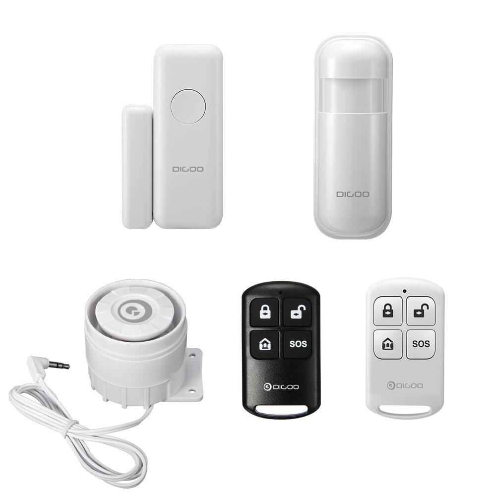 Digoo 433MHz Window Door Sensor PIR Detector Wireless Remote Controller External Alert Siren Accessories for HOSA HAMA Security Alarm System