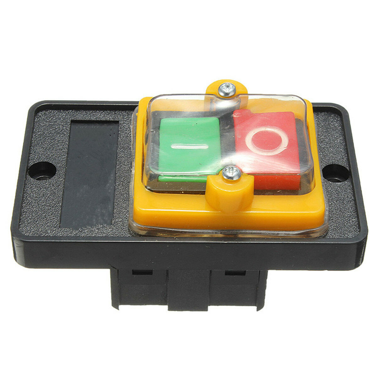 10A 380V KAO-5 Water Proof ON//OFF Push Button Machine Drill Switch Plastic