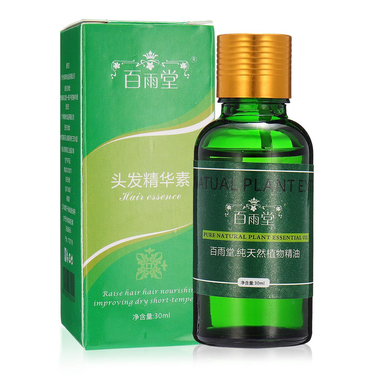 Chiết xuất thực vật tự nhiên Tinh chất chăm sóc tóc Tinh dầu lỏng Nhân sâm Gừng thảo dược nguyên chất 30ml