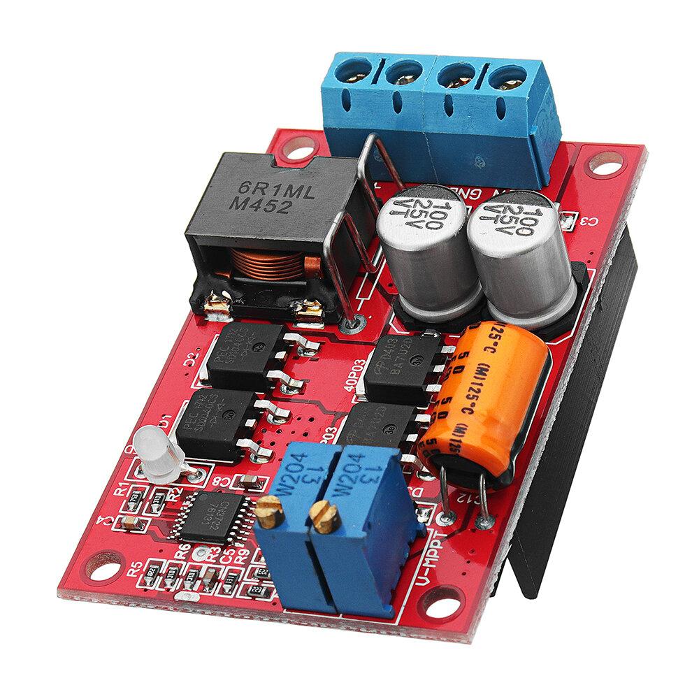 MPPT 5A सोलर पैनल रेगुलेटर कंट्रोलर बैटरी चार्जिंग 9V 12V 24V ऑटोमैटिक स्विच