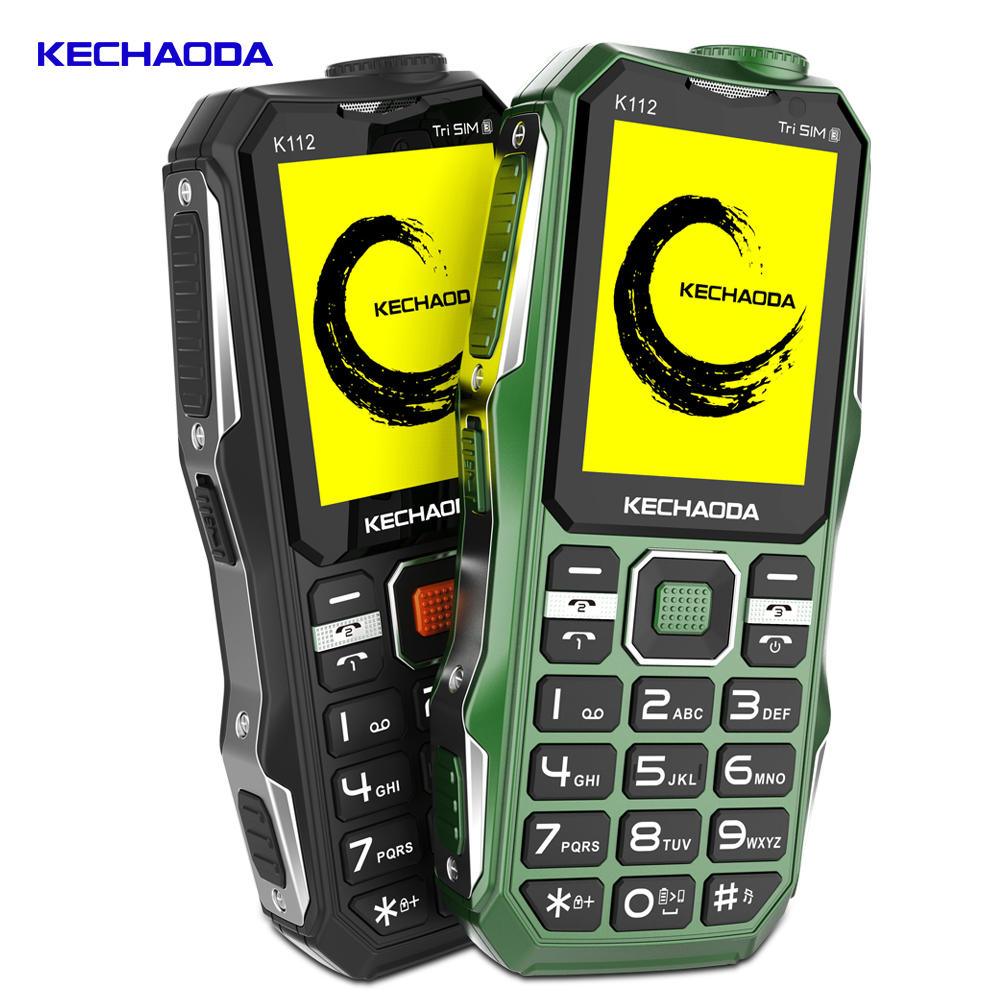 4400mAh Classic Old Retro Vintage Cell Mobile Phone Big Large Volume Dual SIM Tri-band Feature Phone - 7