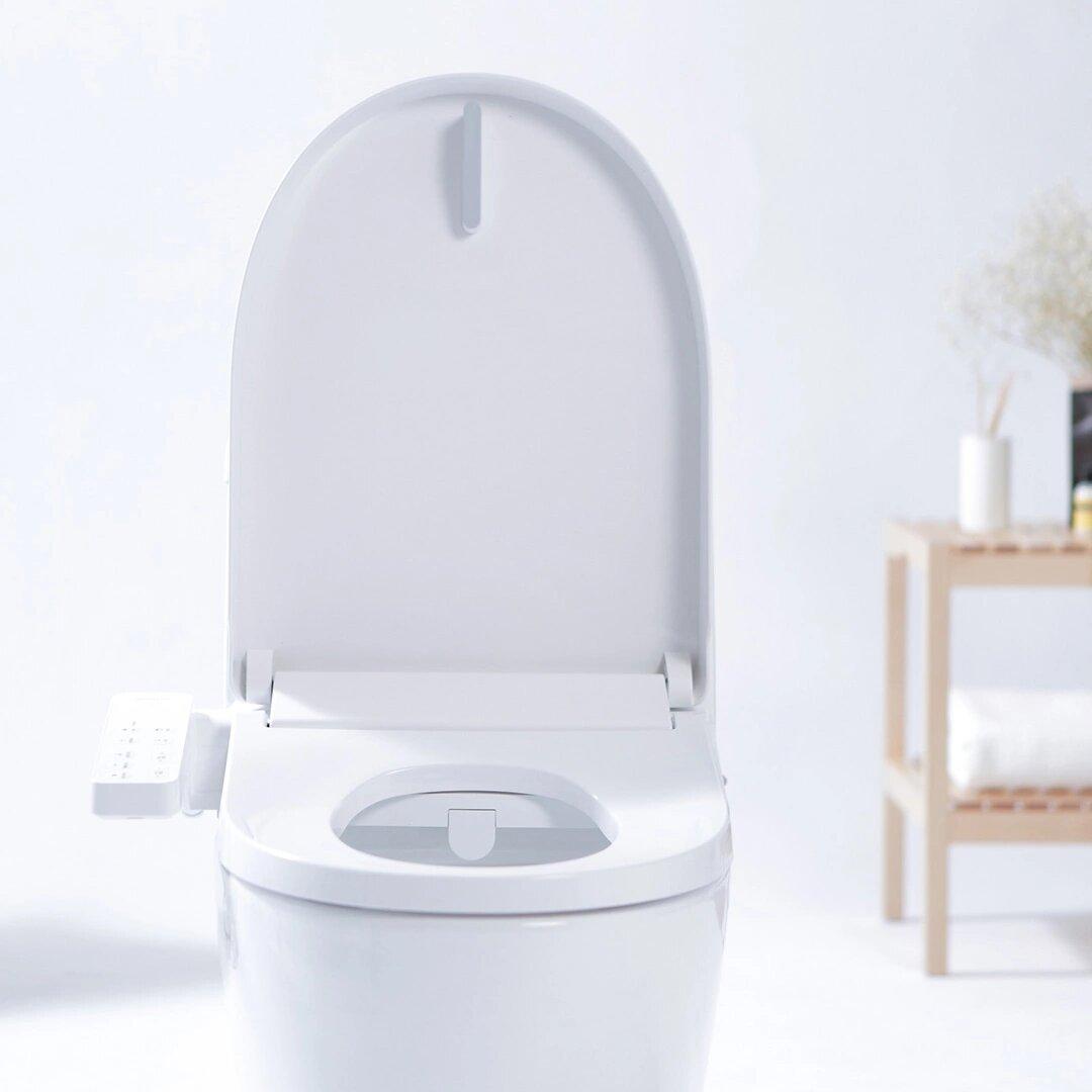Smartmi Multifunctional Smart Toilet Seat Led Night Light 4 Grade Adjustable Water Temp Electronic Bidet From Xiaomi Youpin Sale Banggood Com