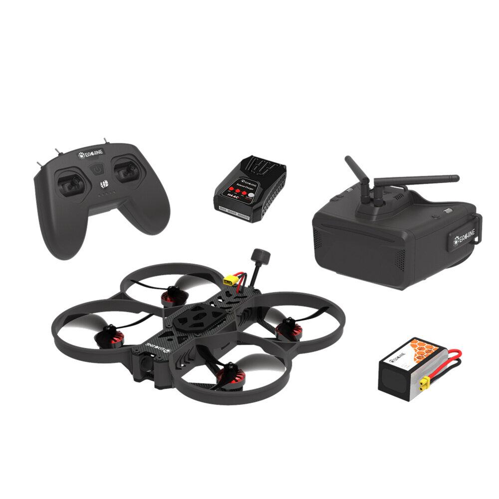 Eachine&ATOMRC Seagull FPV Combo 3.5 4S 158mm FPV RC Drone+EACHINE T8 LITE Radio+Cobra LITE FPV Goggles