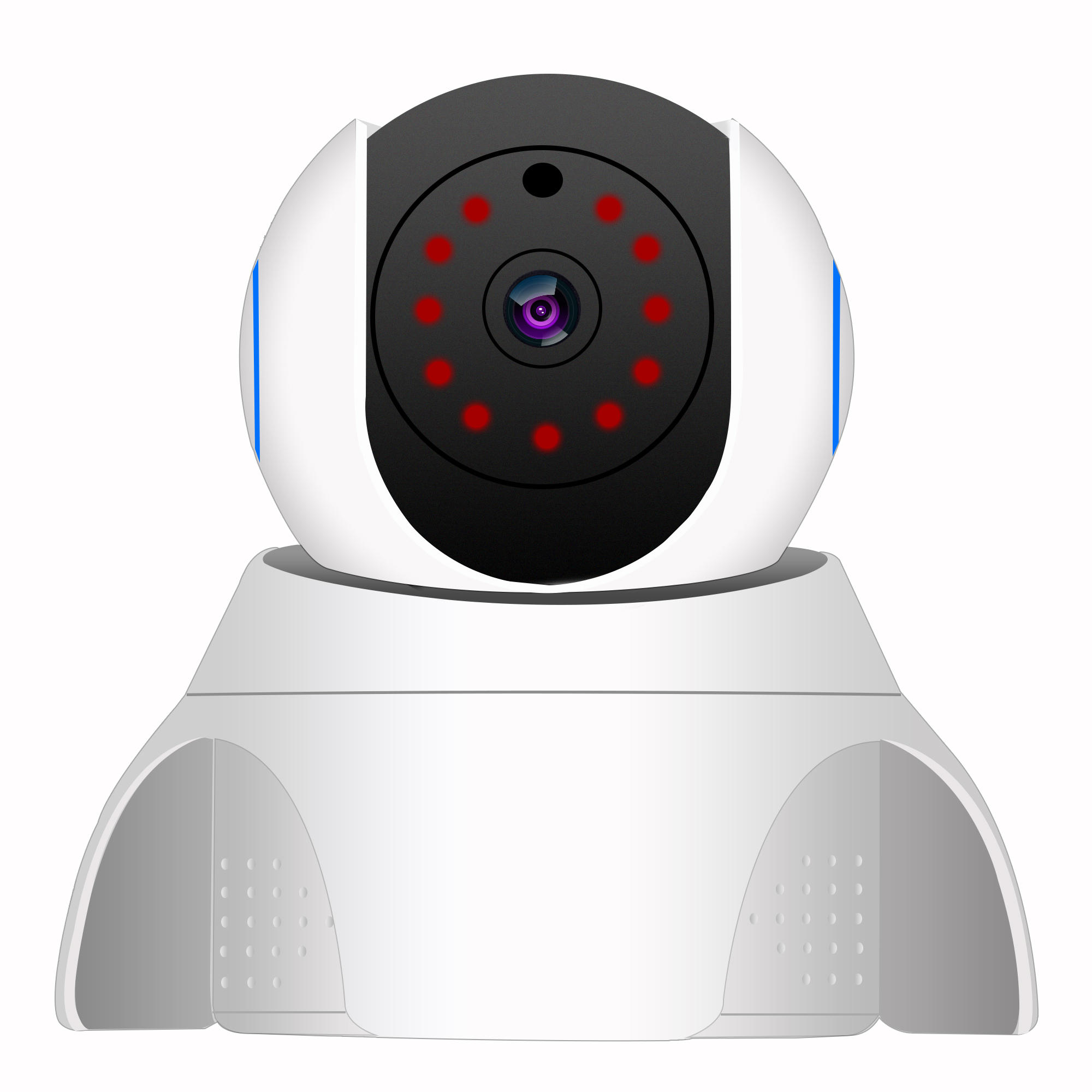 1080P Wired/Wireless Security Wifi IP Camera Pan/Tilt Night Vision CCTV  Camera System
