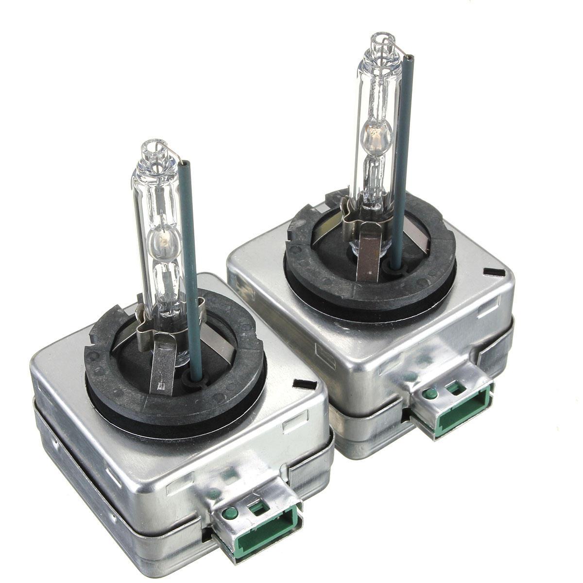 2Pcs 35W D3S D3 HID Xenon Car Headlights Bulbs 4300K 5000K 6000K 8000K 10000K 12000K