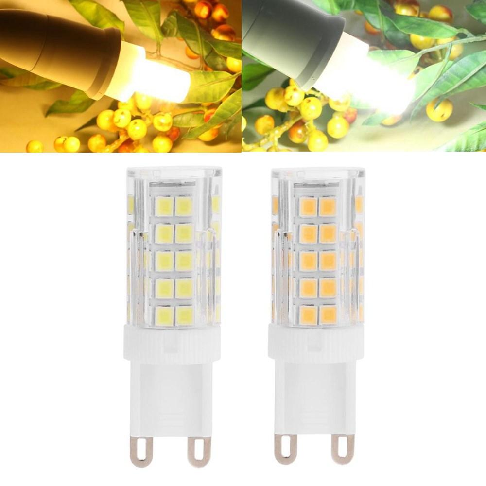 G9 7W SMD2835 Non-dimmable 64 LED Ceramic Corn Light Bulb for Outdoor Home Decoration AC110-240V