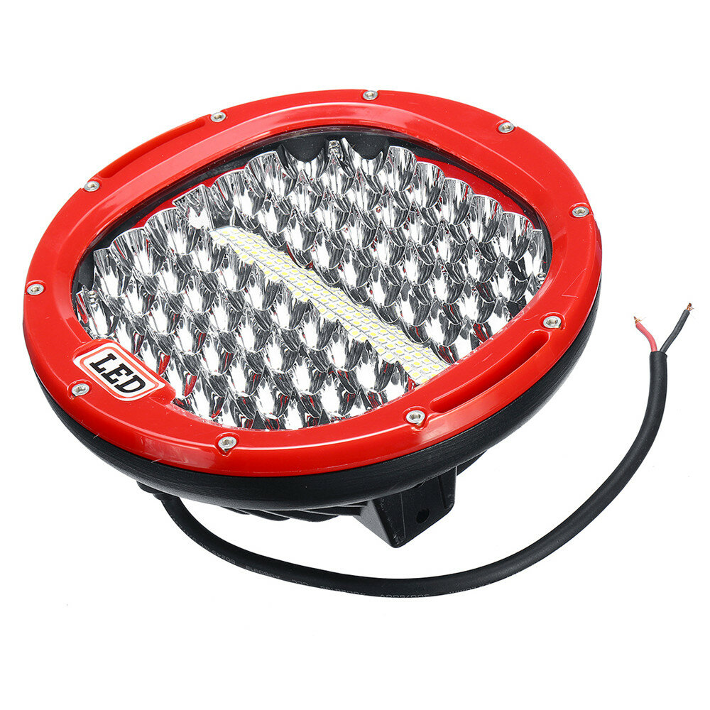 9'' LED 30000LM 378W Car Motorcycle Spotlight Headlights Waterproof Off Road Truck SUV Super Bright - 7